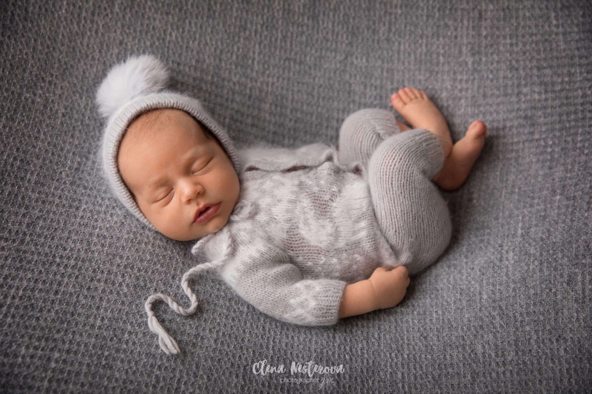фотосессия новорожденных кокон