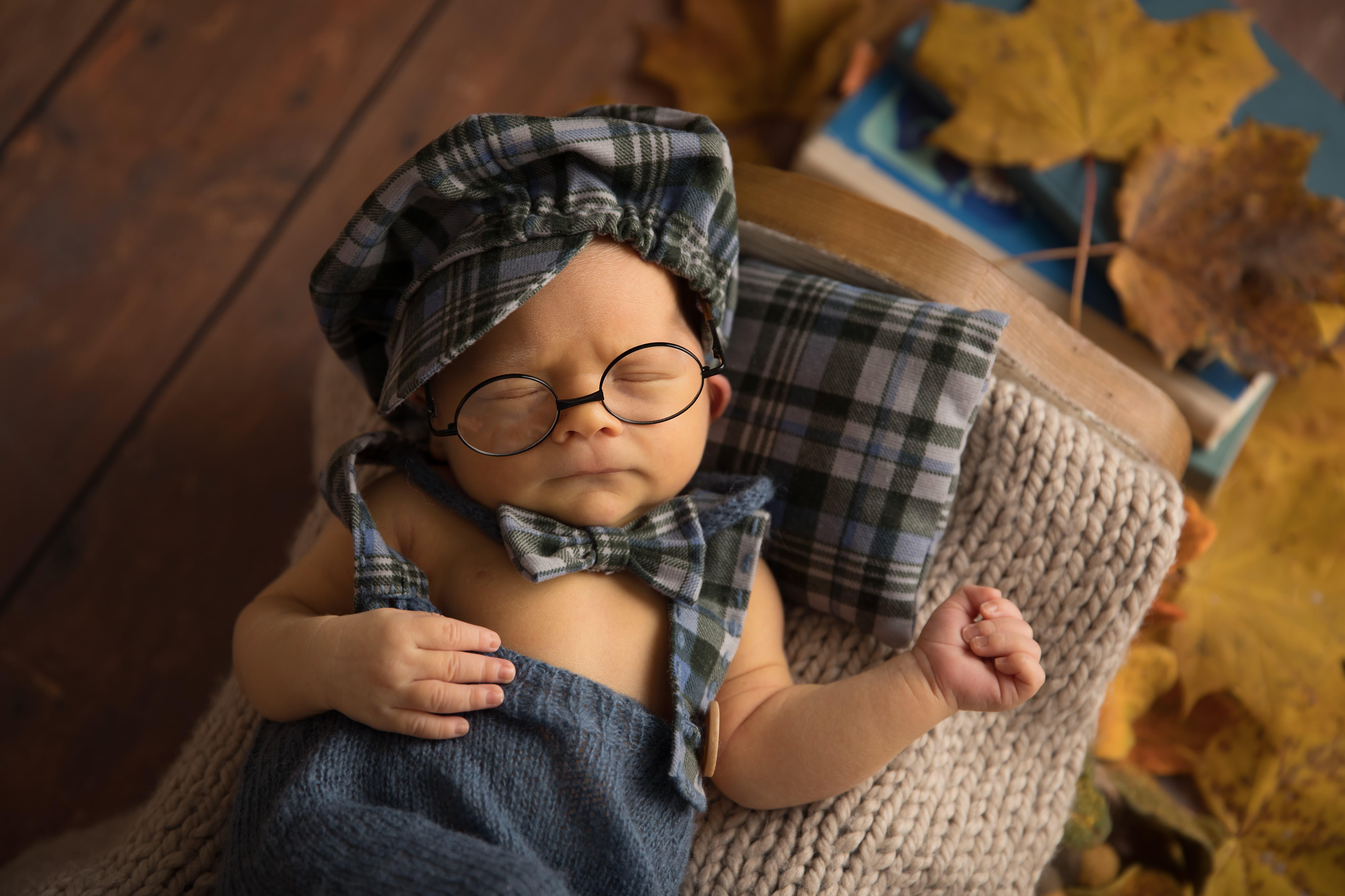 фотограф новорожденного осень