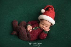 Фото ребенка новый год