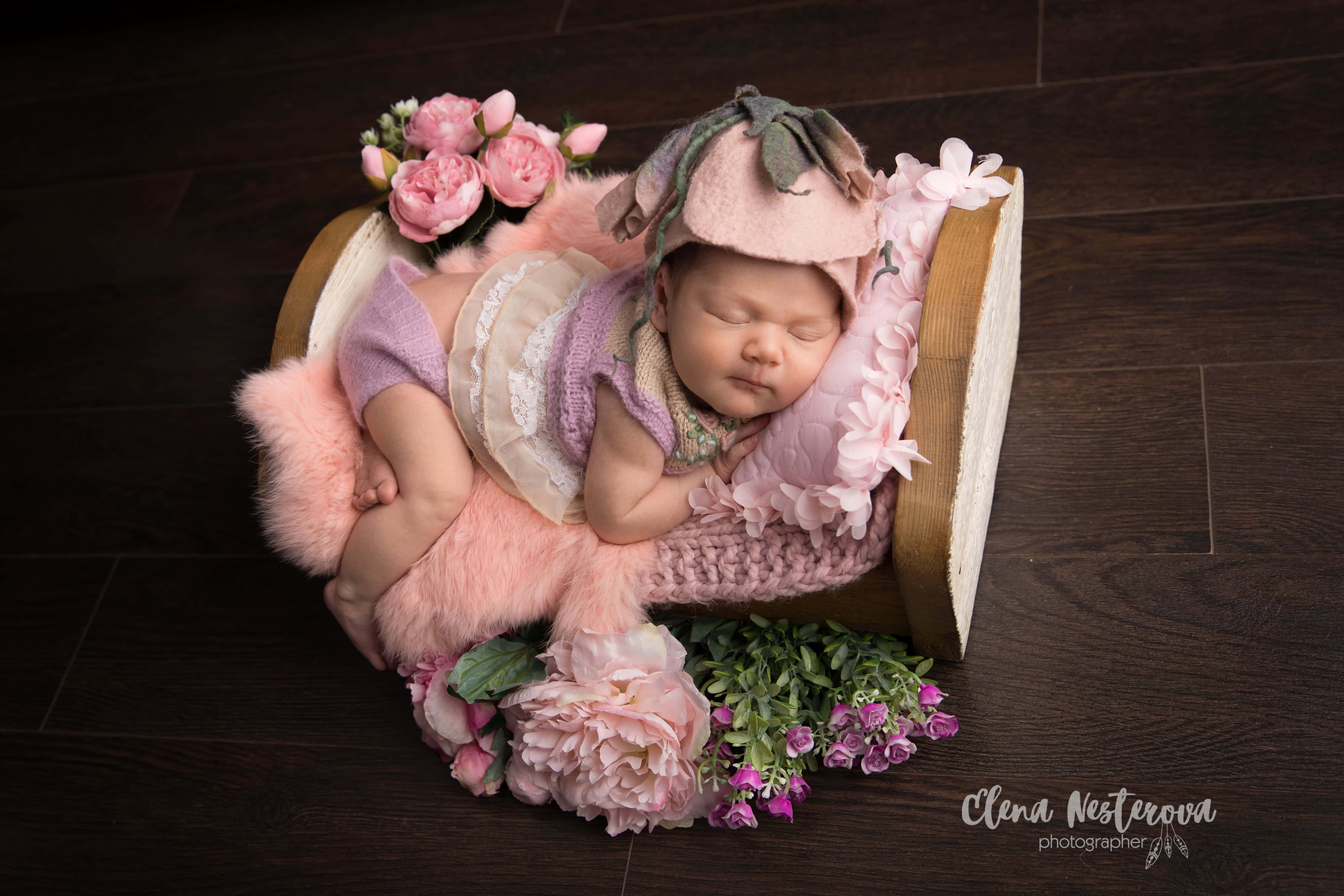 весенняя фотосессия малыша