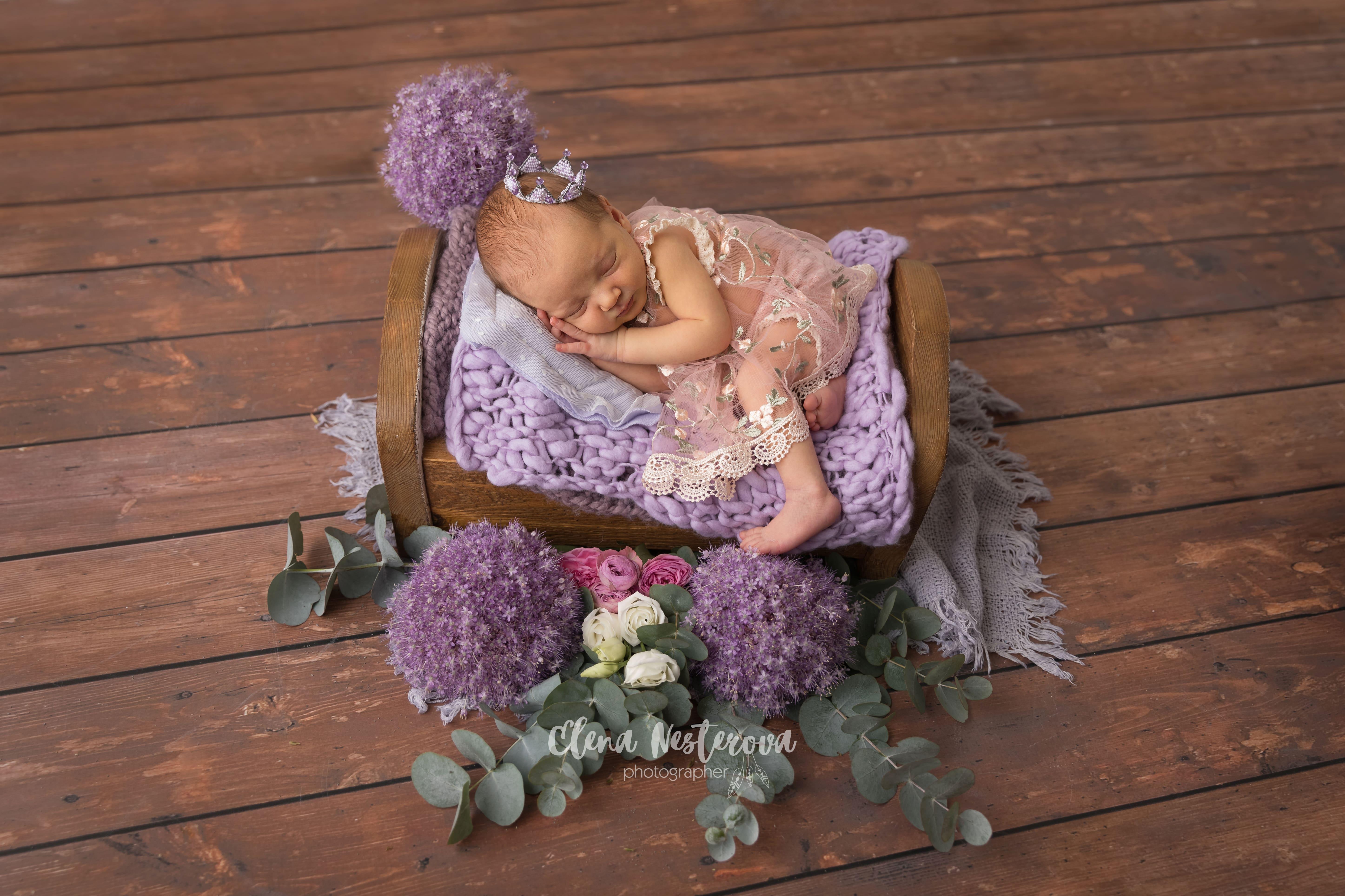 Фото новорожденной малышки