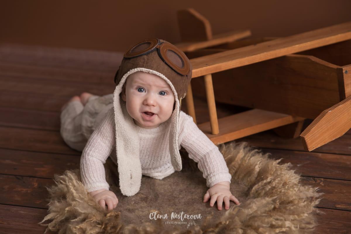 Фотограф 5-месячного малыша
