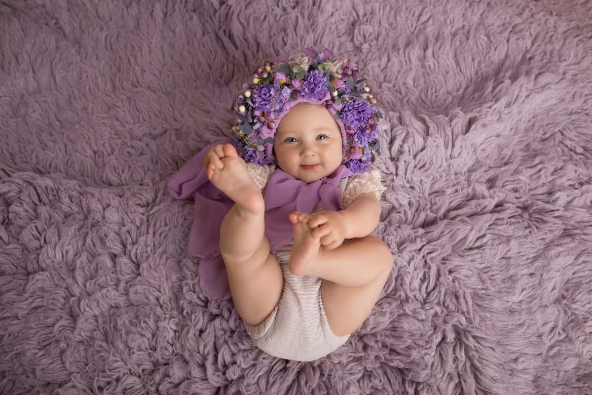 Фотограф малыша на 6 месяцев