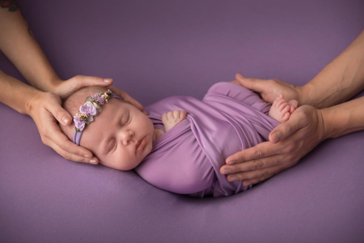 Фотограф новорожденного в Красном Селе