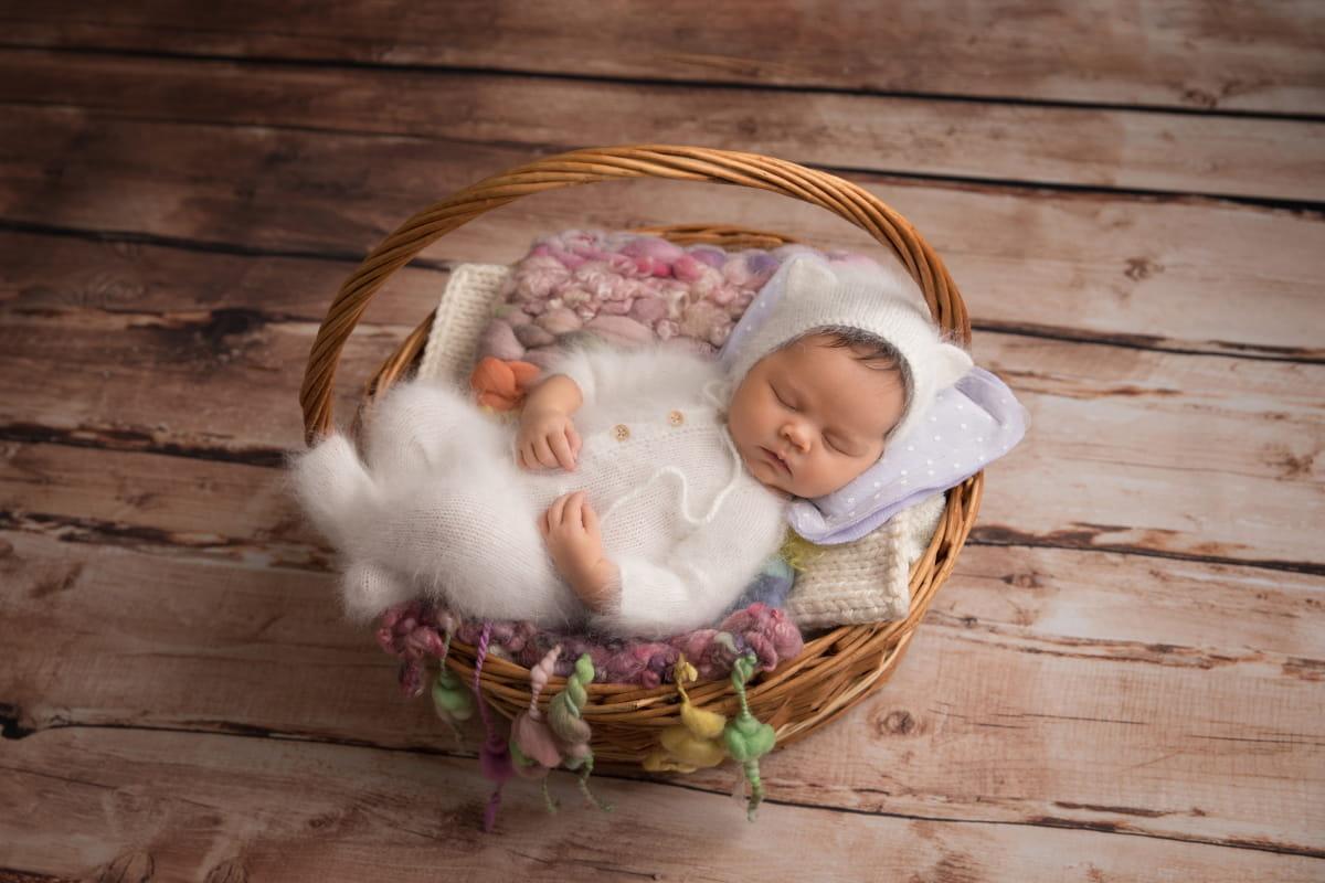 Фотограф новорожденного в Латвии