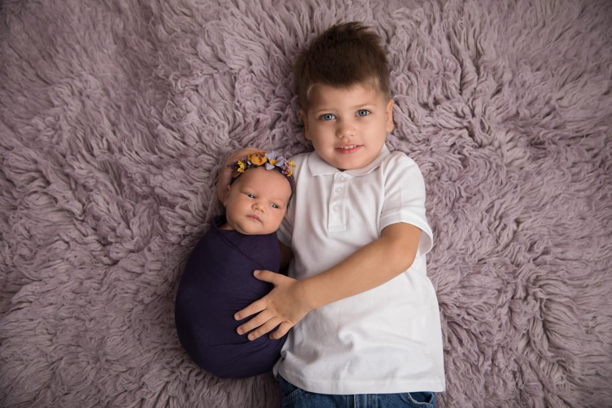 Фотограф новорожденного в Пскове