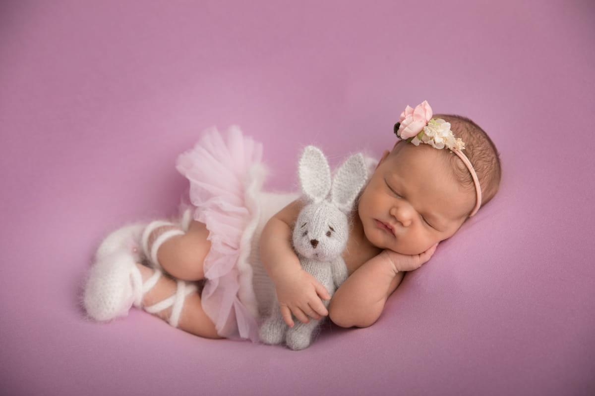 Фотограф новорожденного в Сосновом Бору