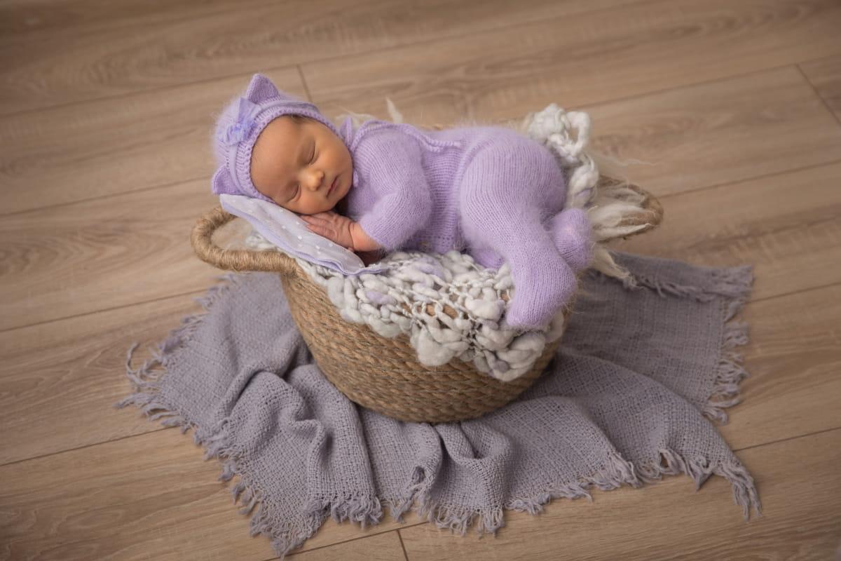 Фотограф новорожденного в Волхове