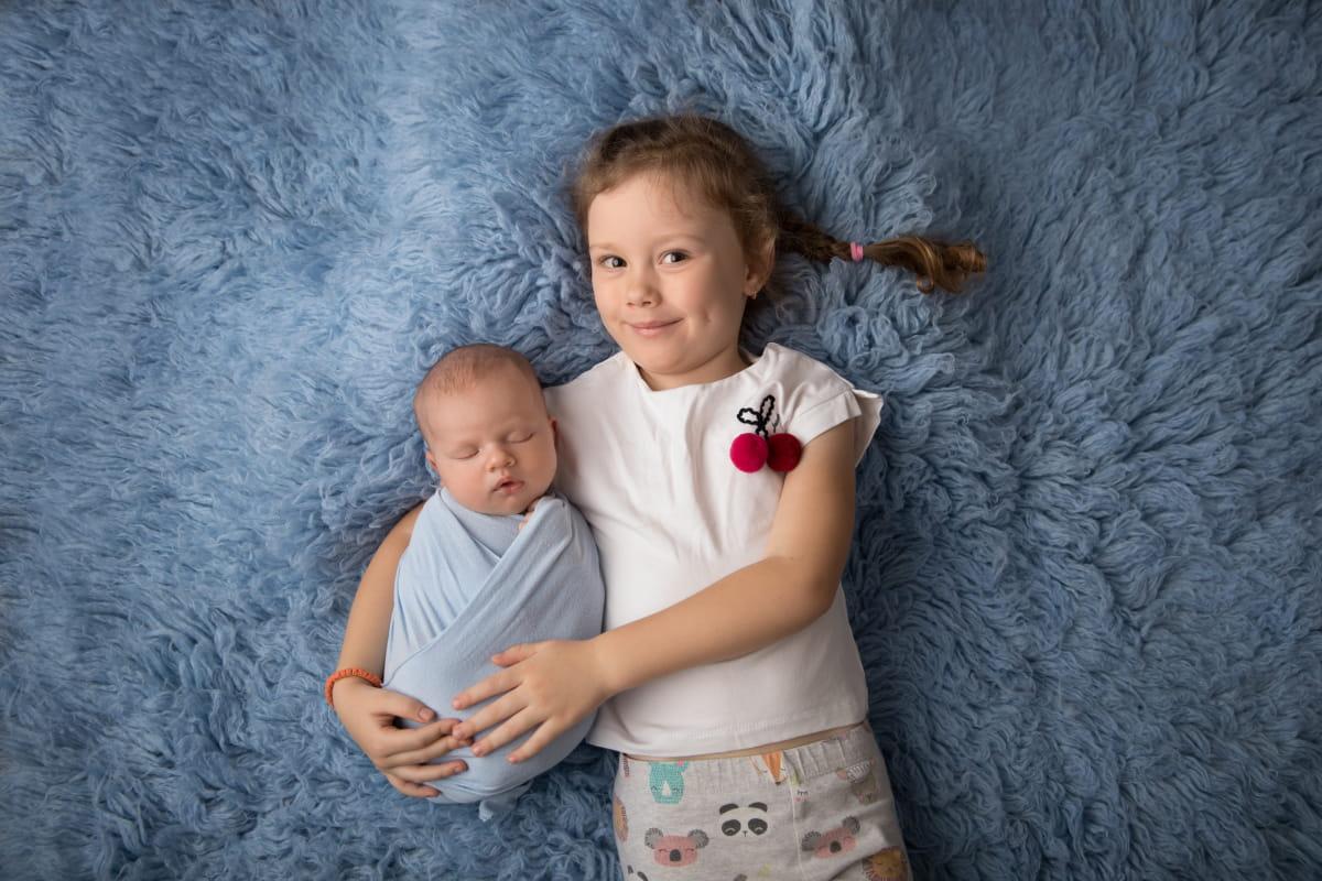 Фотограф новорожденных в Приморском районе Санкт-Петербурга