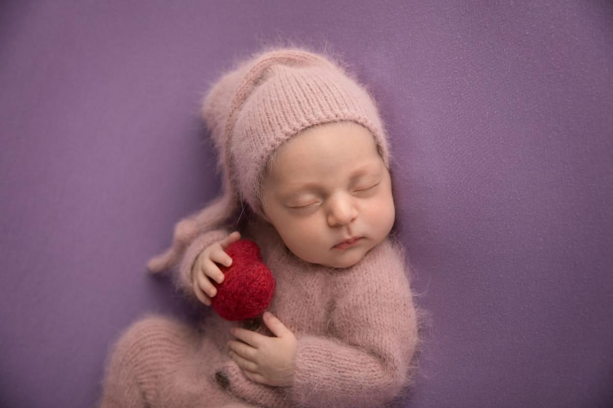Фотосъемка младенца в Финляндии