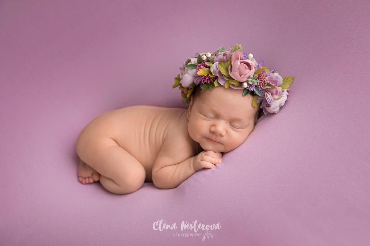 Фотосъемка младенца в Петрозаводске