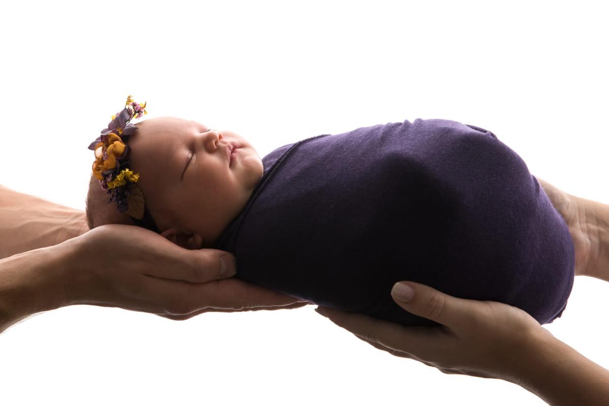 Фотосъемка младенца в Пскове