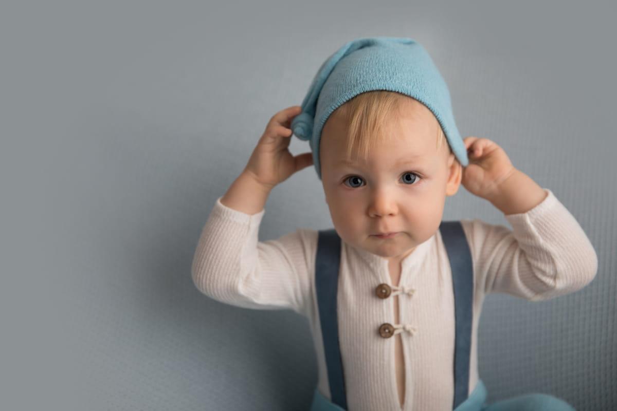Фотосессия 10-месячного малыша
