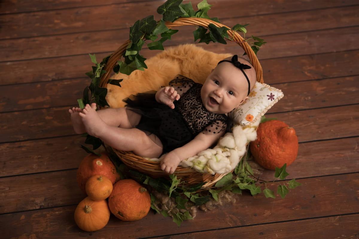 Фотосессия 3-месячного малыша