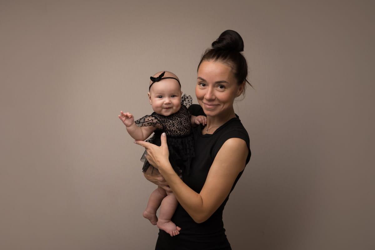 Фотосессия 4-месячного малыша