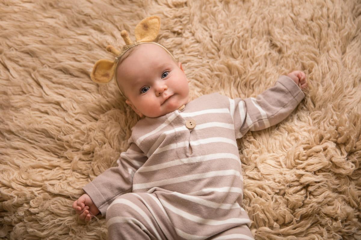 Фотосессия 7-месячного малыша