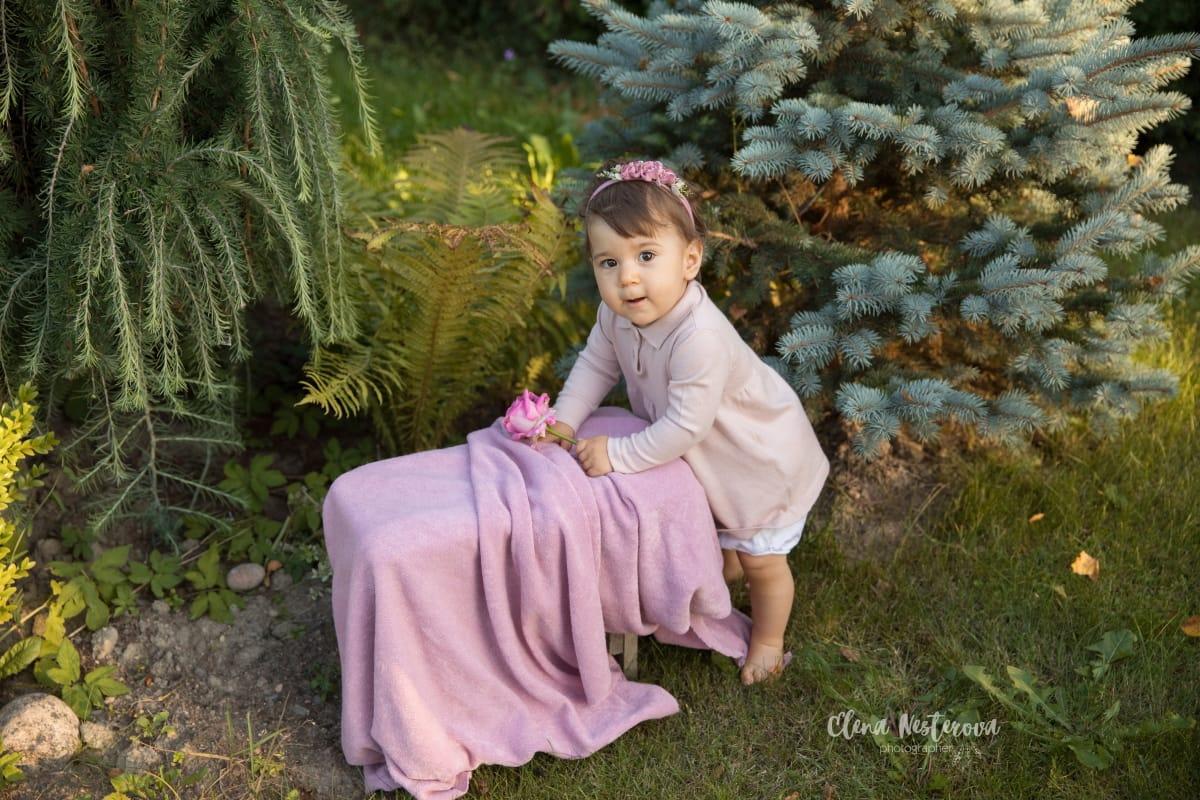 Фотосессия годовалого малыша