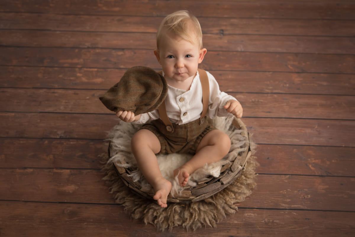 Фотосессия малыша на 1 год