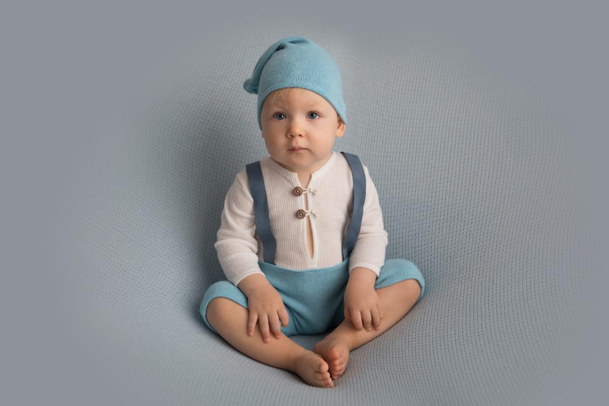 Фотосессия малыша на 10 месяцев