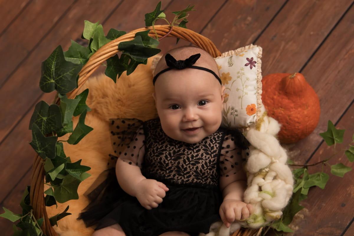 Фотосессия малыша на 3 месяца