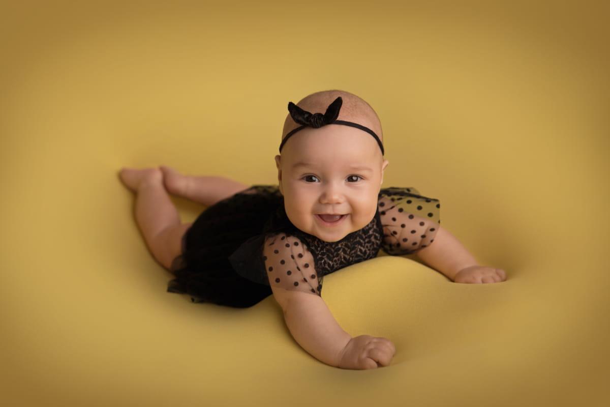Фотосессия малыша на 4 месяцев
