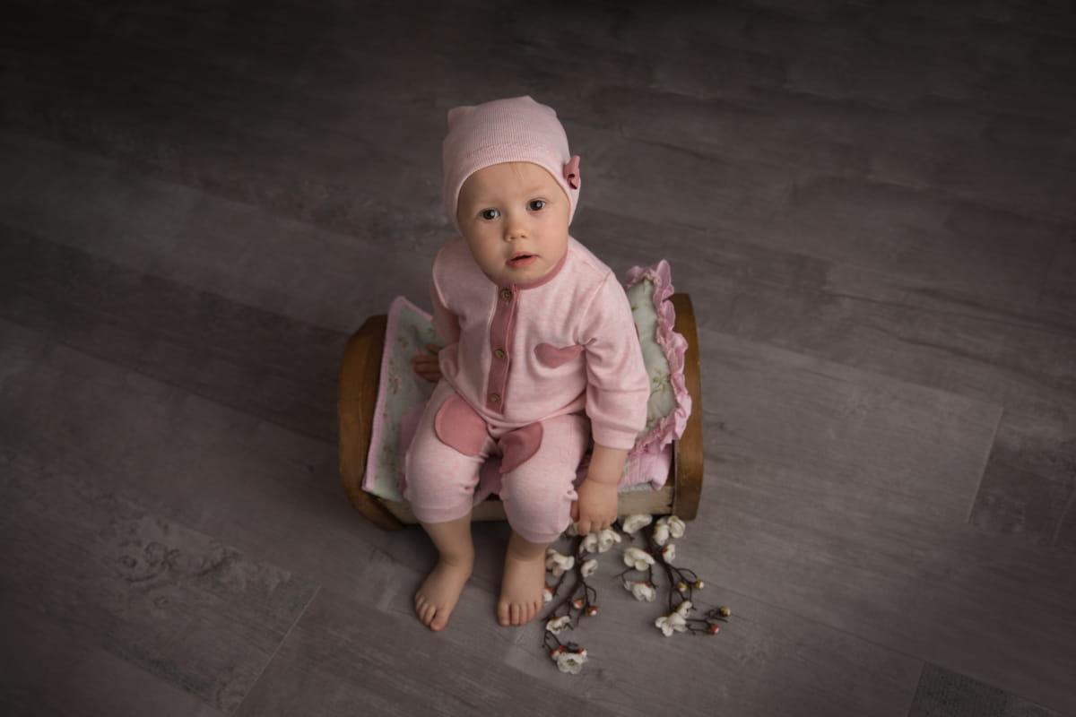 Фотосессия малыша на 8 месяцев