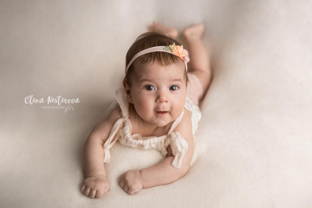 Фотосессия малыша на год
