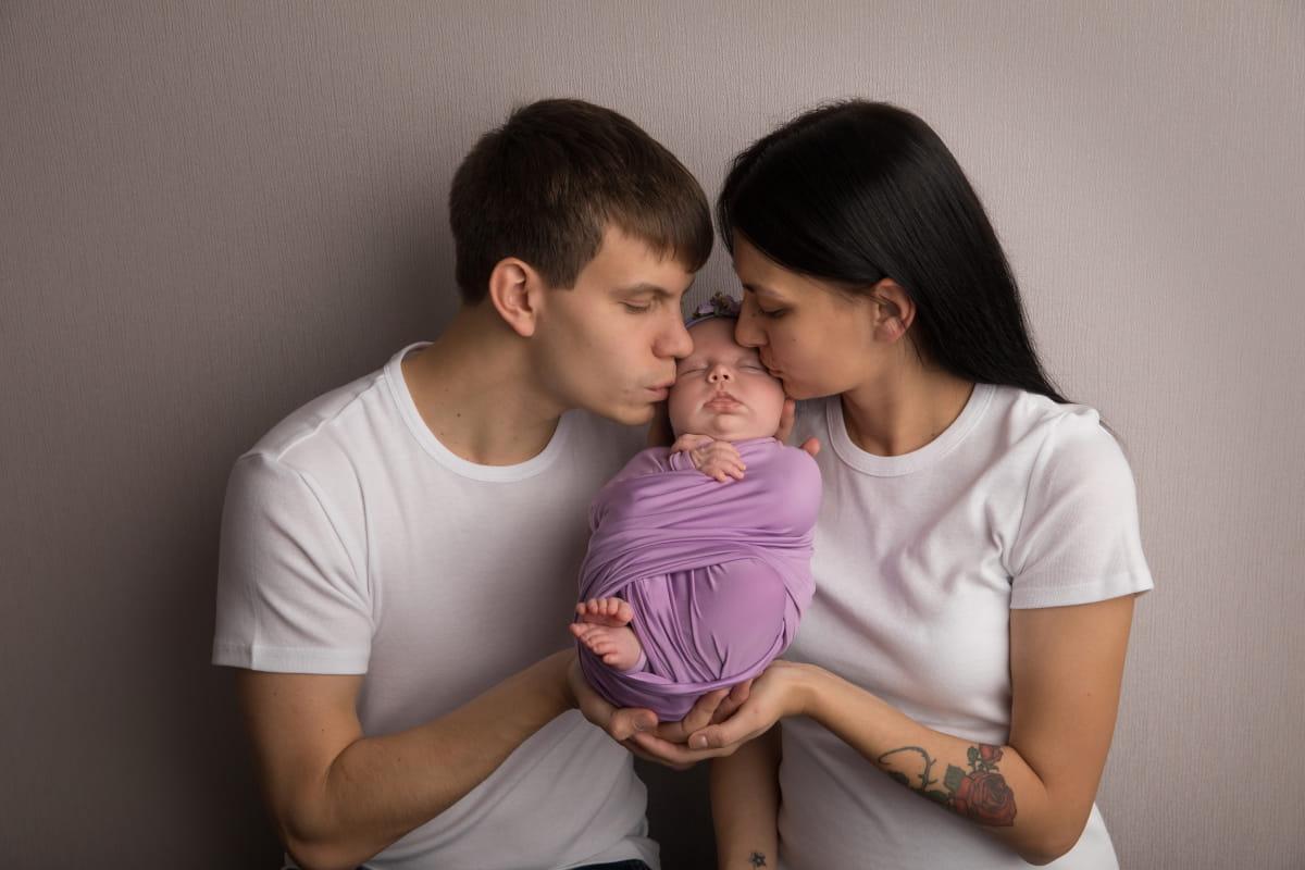 Фотосессия малыша в Красном Селе
