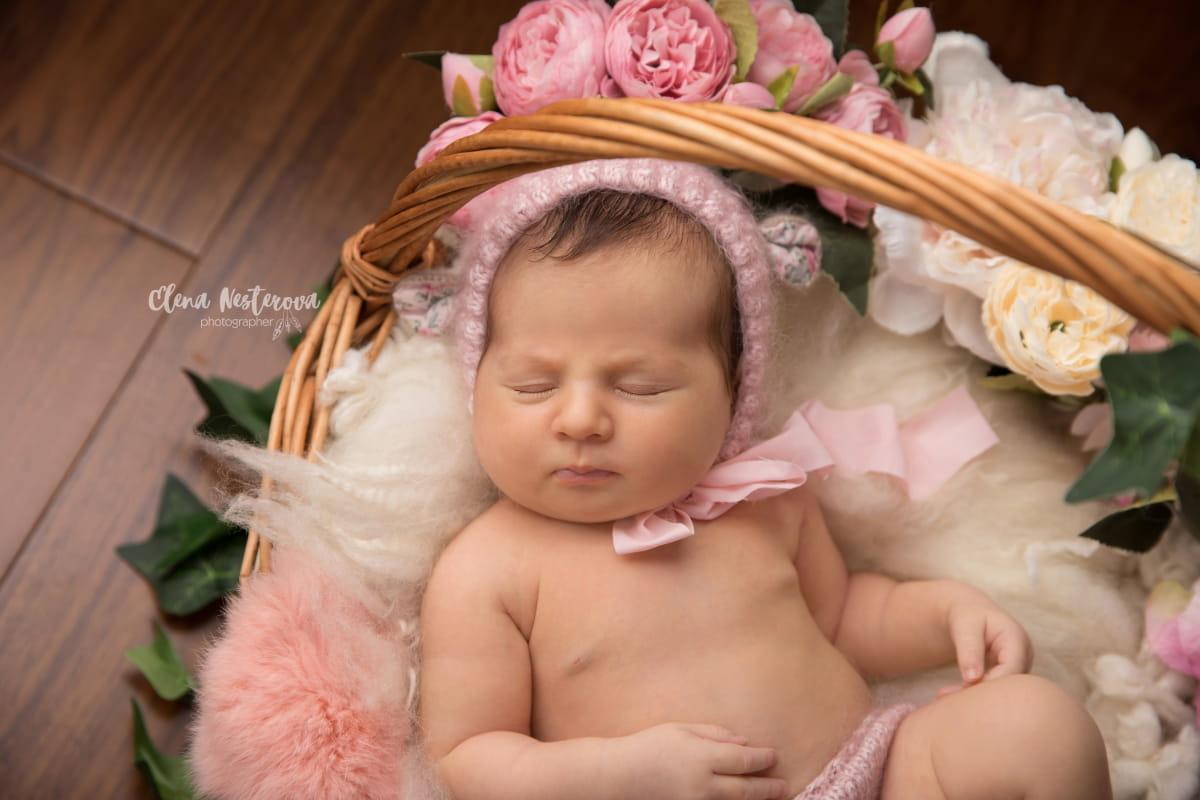 Фотосессия малыша в Петрозаводске