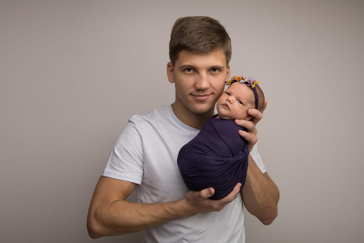 Фотосессия малыша в Пскове