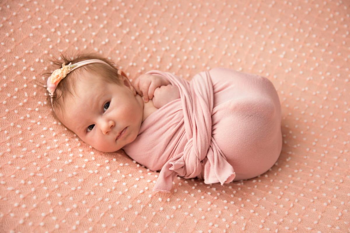 Фотосессия новорожденного в Зеленогорске