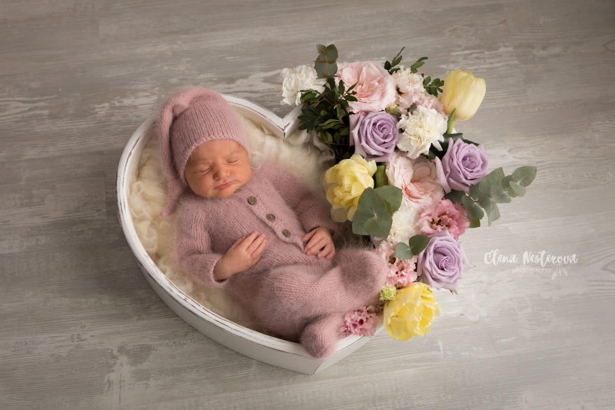 Newborn фотограф в Финляндии