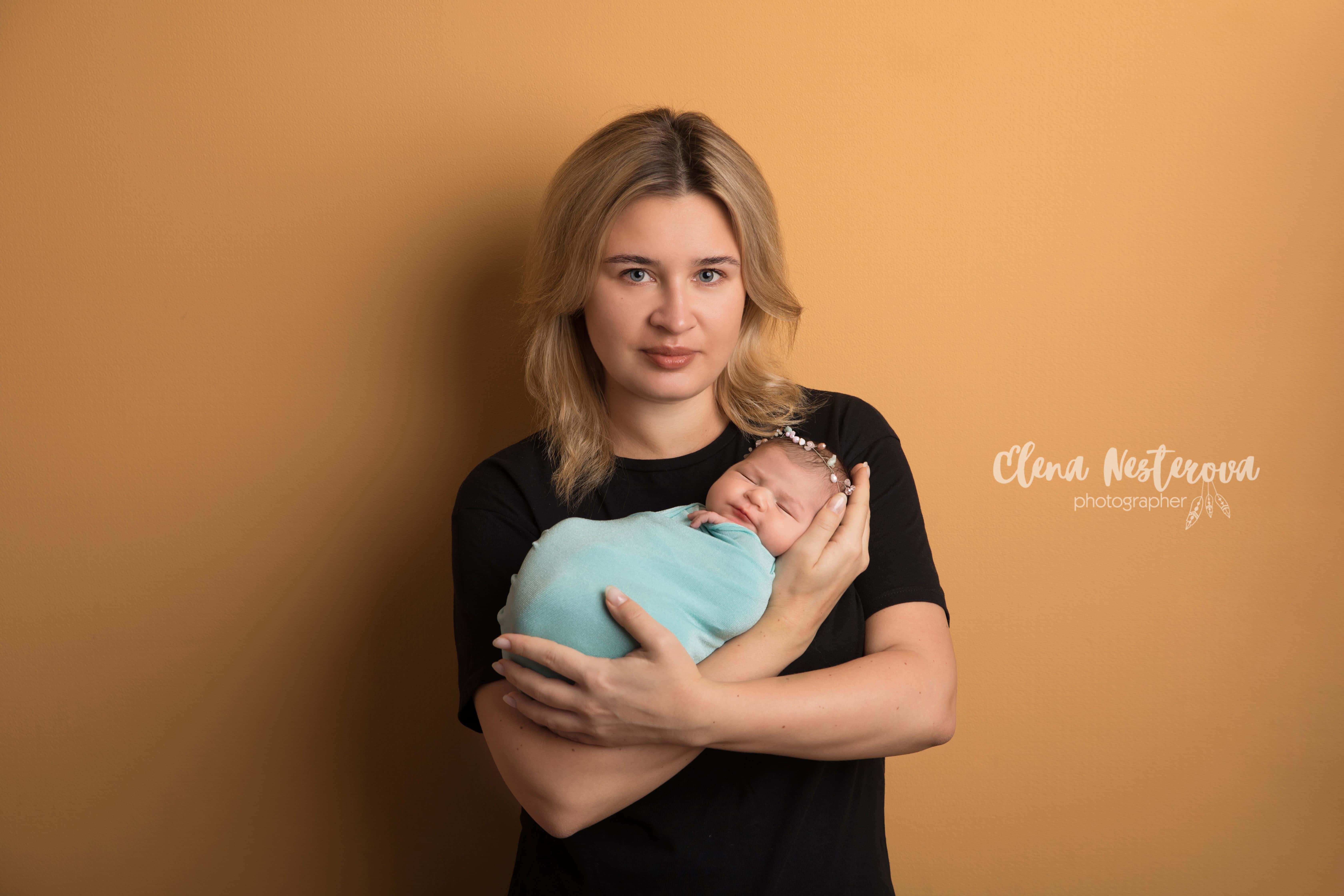 фотограф новорожденного и мамы