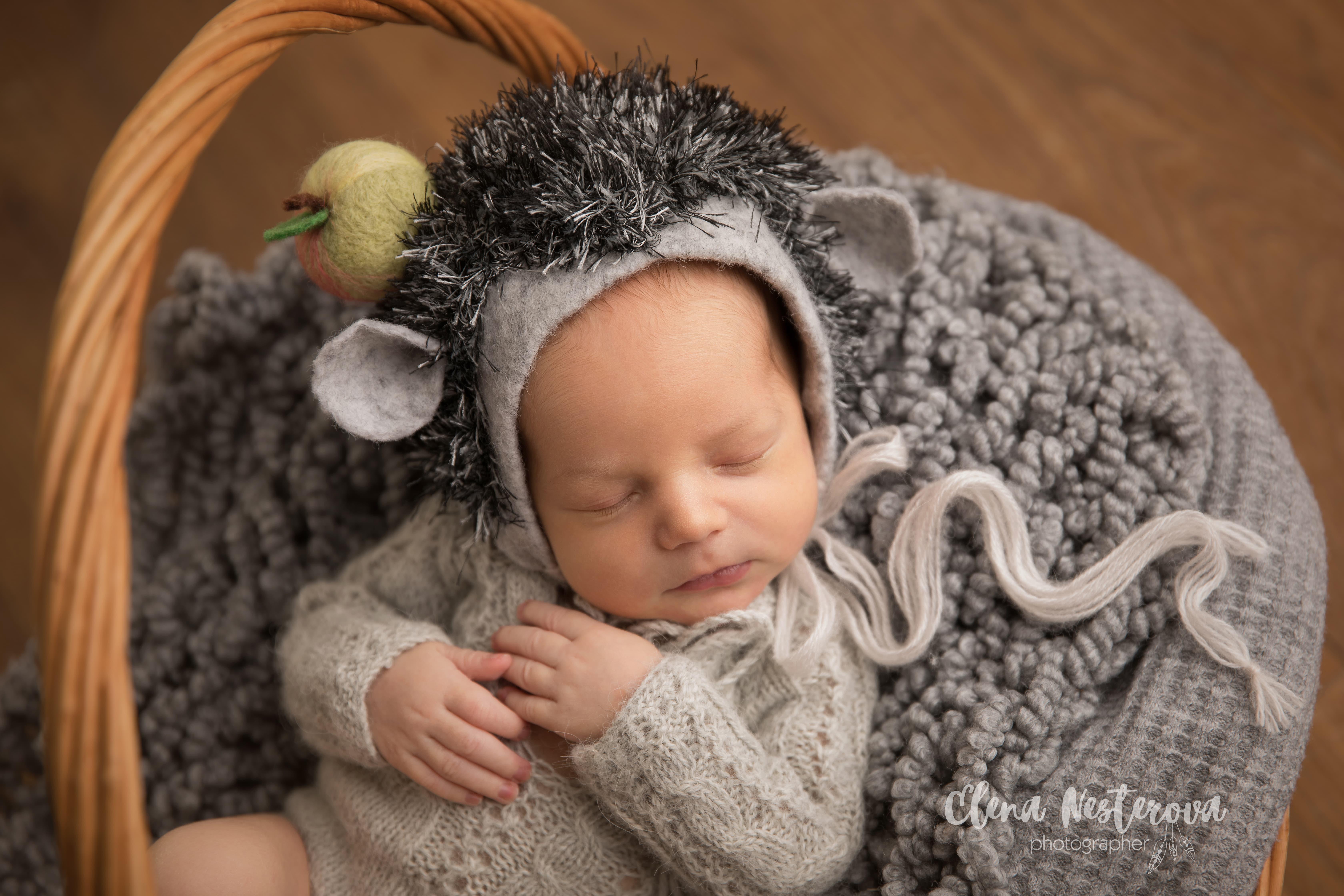 фотосессия новорожденных мальчиков