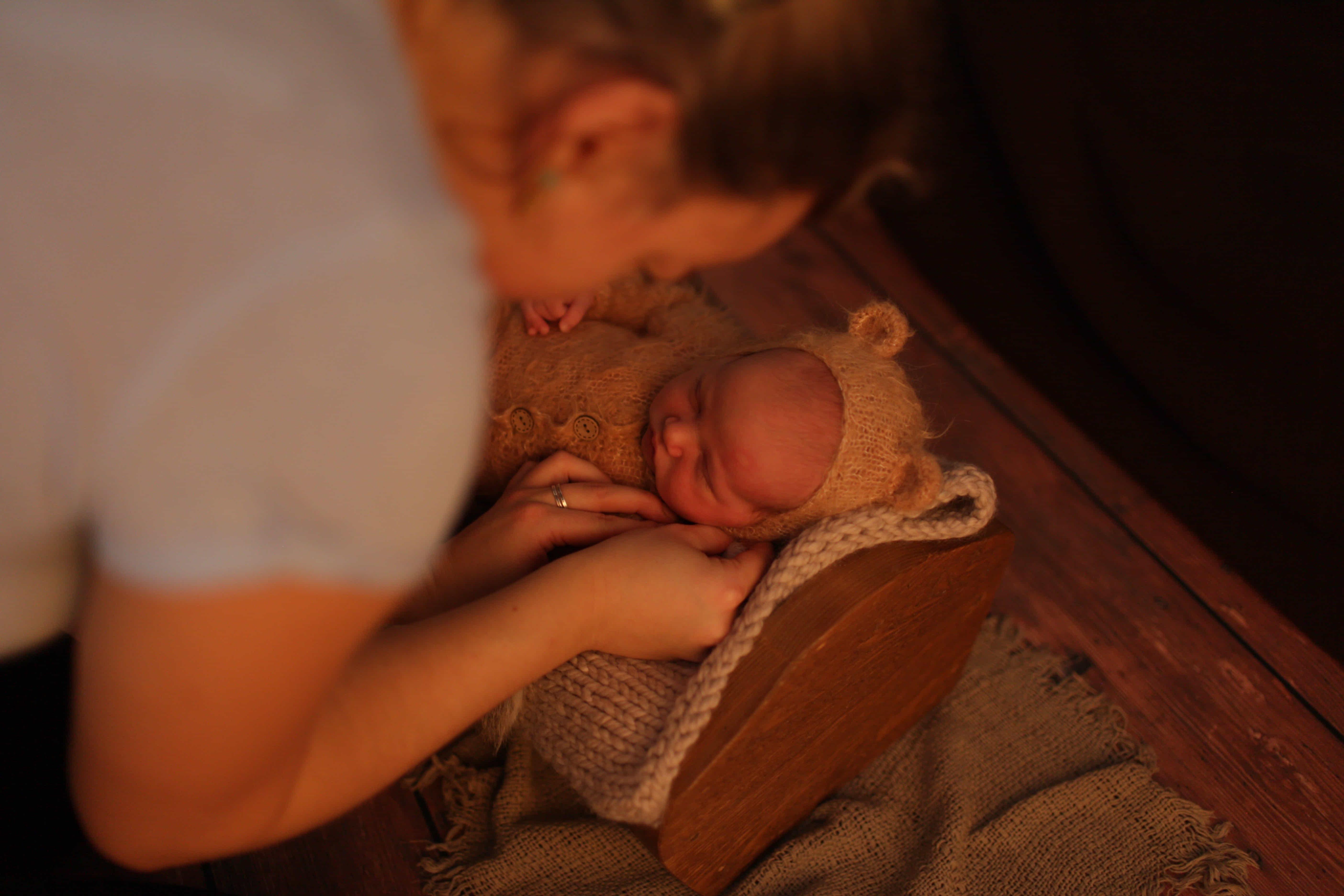 домашняя фотосессия для грудничков