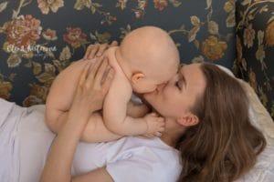 Фотосессии новорожденного мама и я