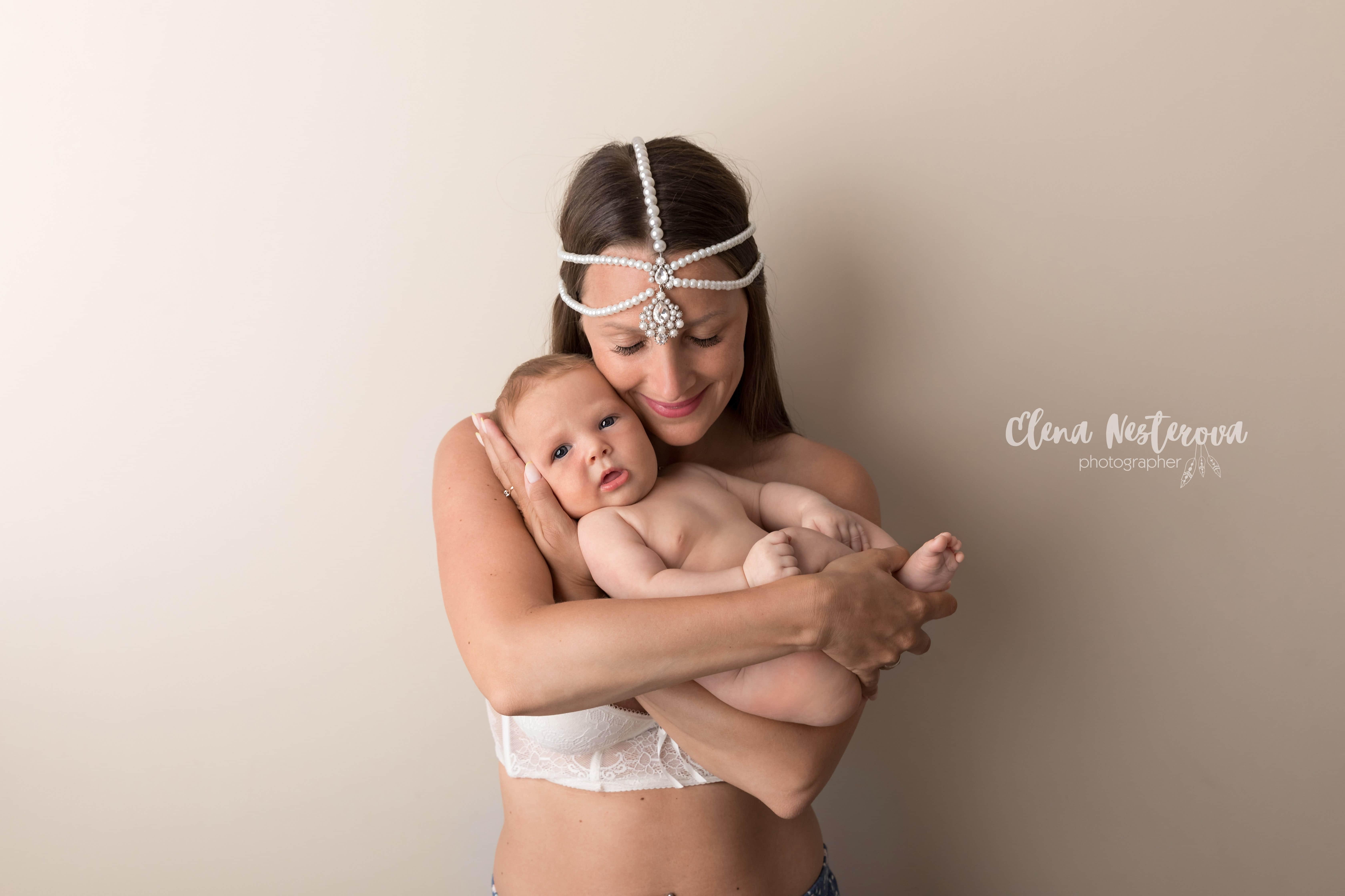 фото мамы и новорожденного