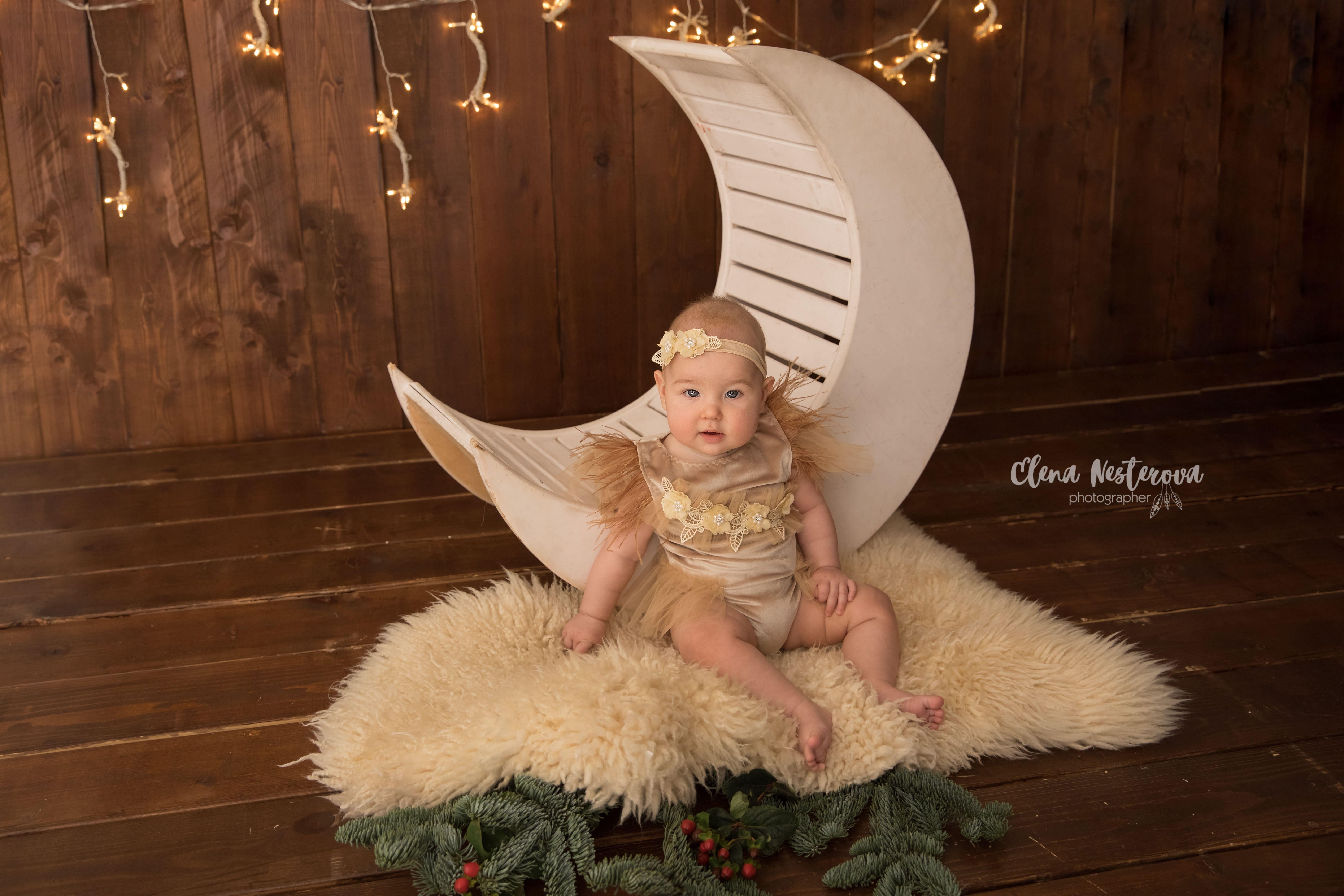 новогодняя фотосессия с младенцем