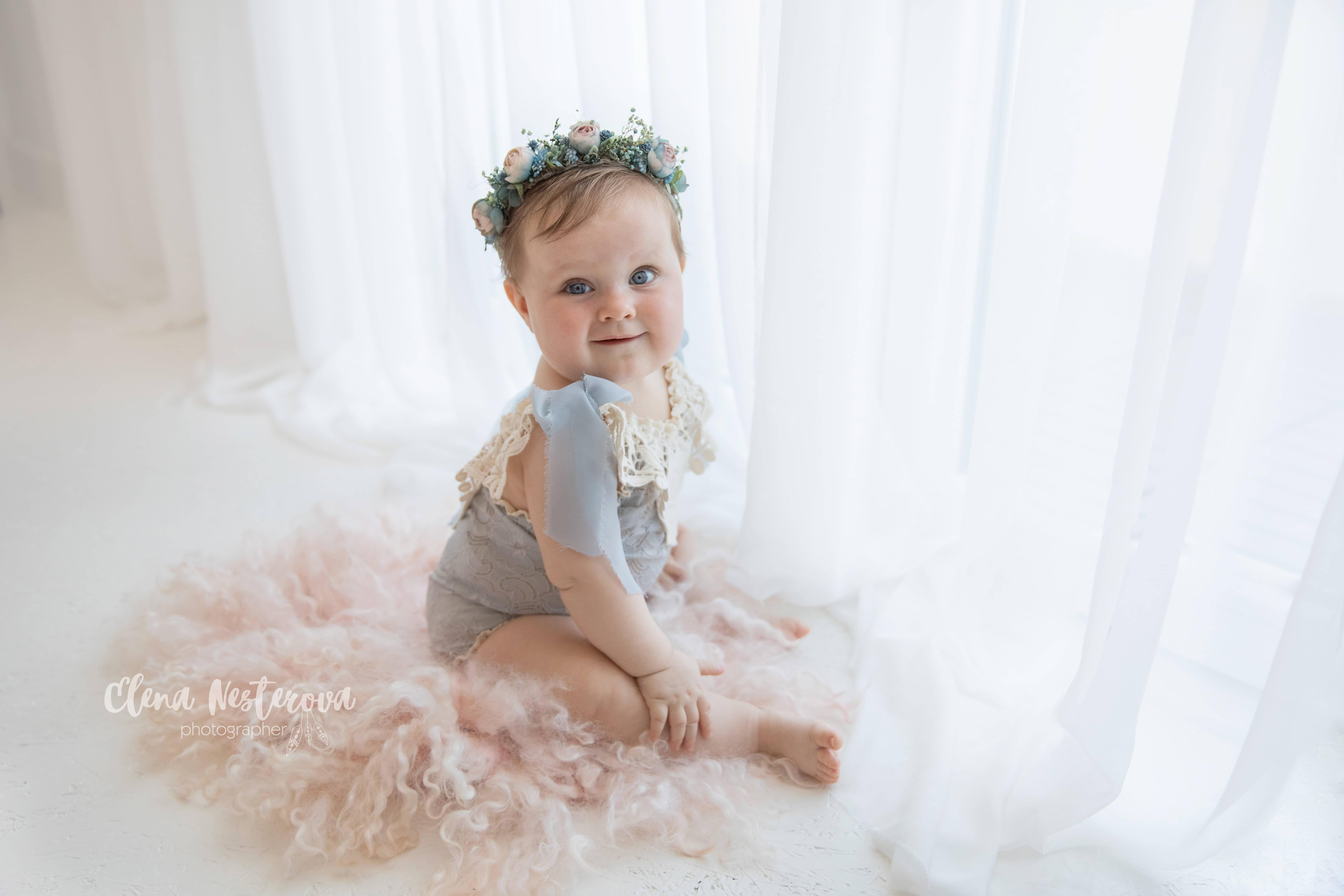 Фотограф девочек младенцев