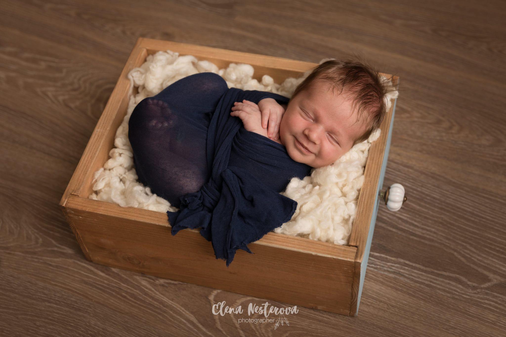 первая фотография малыша