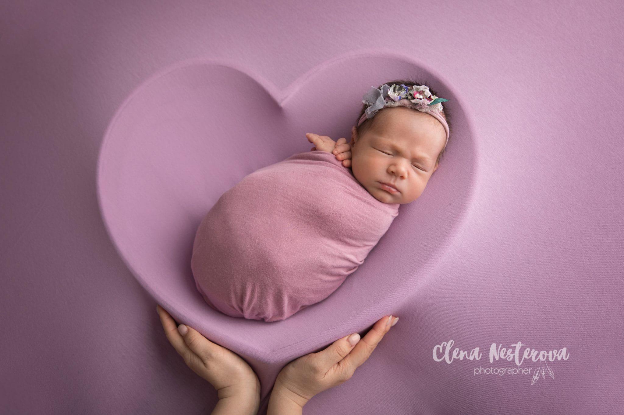 фотографии новорожденных профессиональные