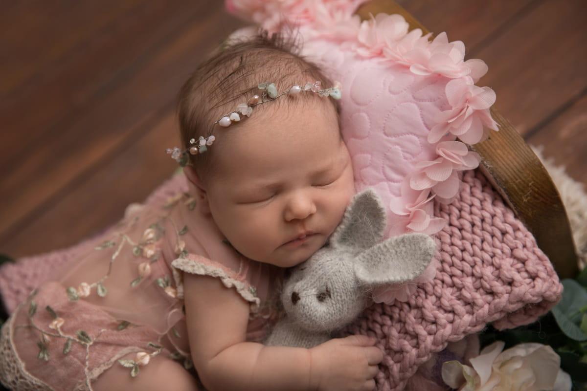 Фотосессия новорожденного в Старой Руссе