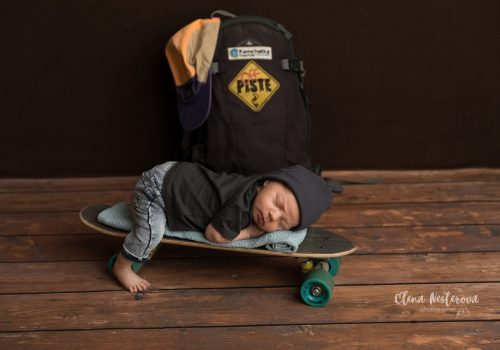 детская фотосессия новорожденных мальчиков СПб