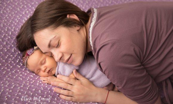 фотосессия новорожденных с родителями СПб