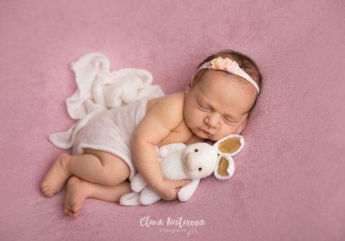 фотосессия новорожденных девочек