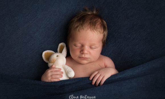 фотосъемка новорожденного малыша