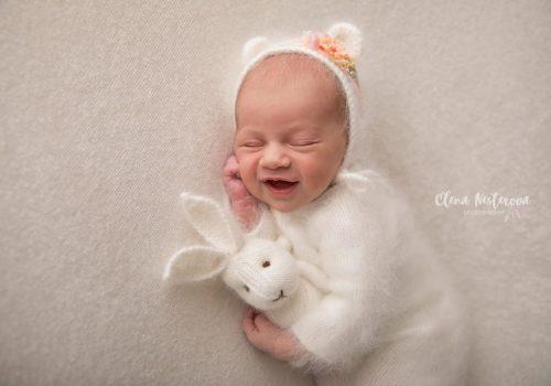 фотосессия новорожденной СПб