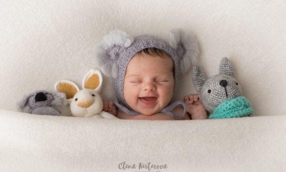 фотосъемка новорожденной девочки