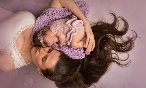 фотосессия новорожденных с родителями